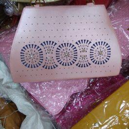 pink locked bag