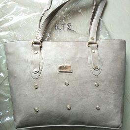 hand bag stylish white